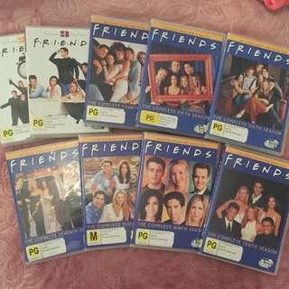 Friends dvds (mint condition) season 2 - 10