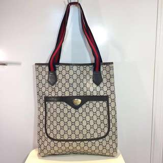 Gucci Plus GG Monogram Tote Bag