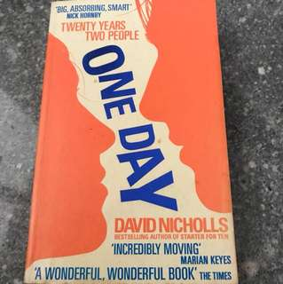 One Day (Twenty years Two People) by David Nicholls - Special one day offer!