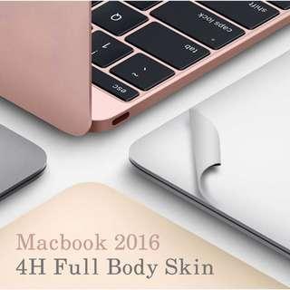 Macbook Skin - Premium 4H Toughness