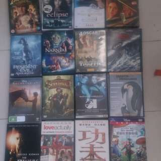 Assorted Movie dvds