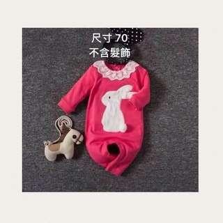 🚚 小兔連身衣(全新現貨)