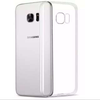 samsung S7 clear soft casing