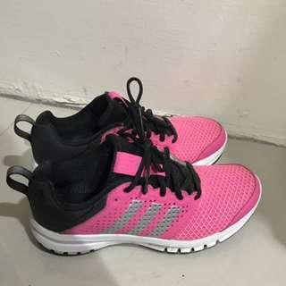 Adidas 桃紅慢跑運動鞋