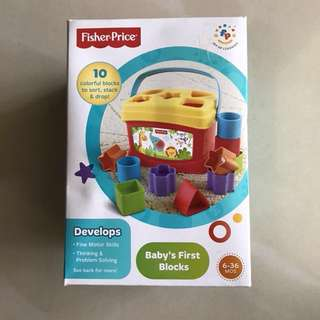 Fisher Price Baby's first toy