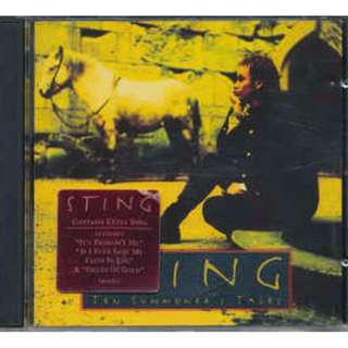 Sting ‎Ten Summoner's Tales cd