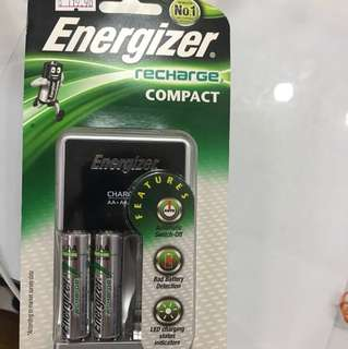 Energizer chargers and Battery
