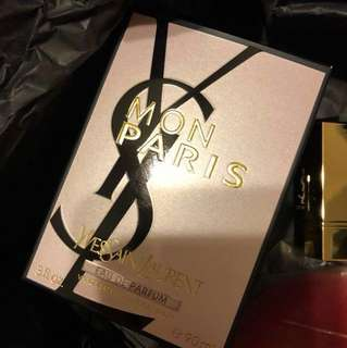 YSL Mon Paris Perfume (Eau De Parfum) with Gift Box