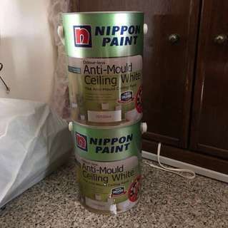 ANTI-MOULD CEILING WHITE PAINT NIPPON PAINT