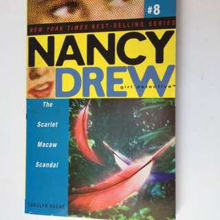 Nancy Drew: The Scarlet Macaw Scandal