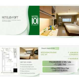 Hotel 101 the Fort BGC Condotel
