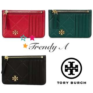 Trendy A 美國 正版包郵 Tory Burch Georgia Top-Zip Card Case 卡片套