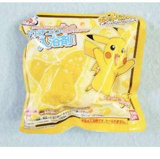 Pikachu bath bomb