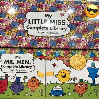 My Little Miss & Mr Men Collection Set