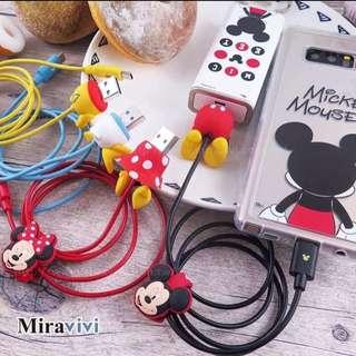 🚚 Disney迪士尼 USB Type C 屁屁傳輸線