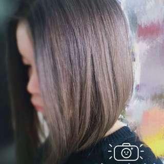 Colour hair cut
