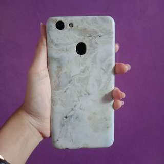 Marble Soft case oppo f5