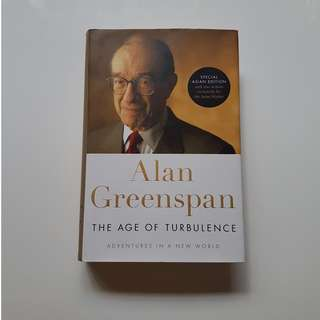 ALAN GREENSPAN THE AGE OF TURBULENCE