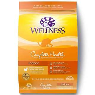 Wellness Complete Health Indoor Cat Food 6Lb $45 / 12Lb $75