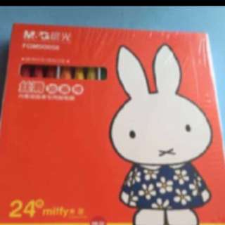 Miffy Oil pastels