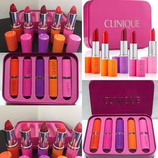 💋💄Brandnew Clinique Lipstick Set 5PCS