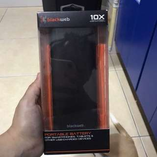 BLACKWEB 20,000 mAh powerbank