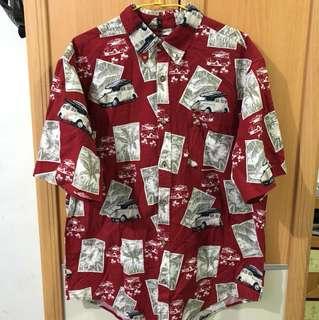 古著襯衫 夏威夷襯衫 花襯衫