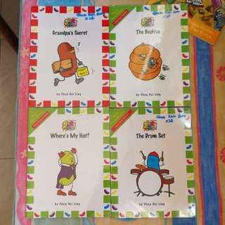 Phonics Early Readers (The Jellybeans)