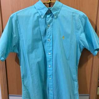 Polo 水藍色古著襯衫