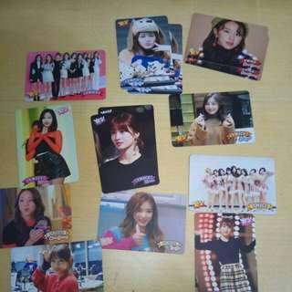 Twice第三期專輯卡