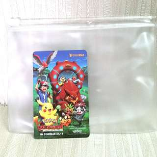 BN Pokemon the Movie - Volcanion and the Mechanical Marvel Ez Link Card
