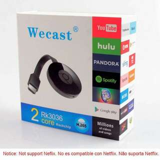 Wecast E8 Tv Stick Wireless Usb Adapter Mirror Screen Dlna Miracast Receiver Hdmi Wifi Display Dongle With Linux
