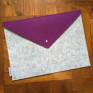 Notebook case / holder Purple