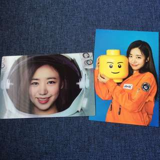APINK 南珠Namjoo PINK SPACE POSTCARD