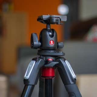 Manfrotto 190 Alu 3-section tripod with ball head