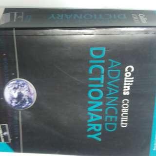 英語詞典Collins Cobuild Advanced Dictionary