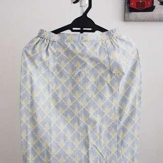 Batik Lipat Long Skirt