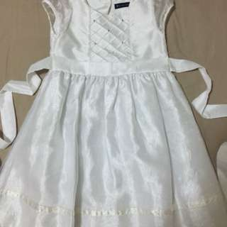 Periwinkle White Dress (4-5 y/o)