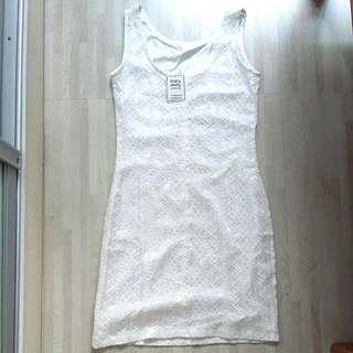 BNWT Tracy Einny Kenya Lace White Lace Crotchet Dress