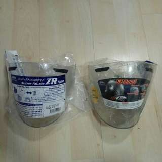 Arai Ram 4 Clear Visor (Left 1 pc)