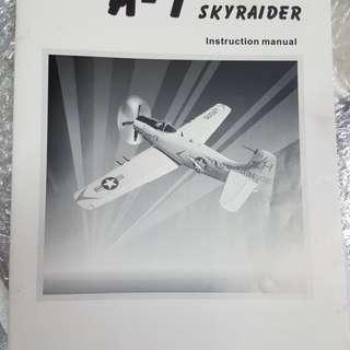 RC 1600mm A-1 skyraider