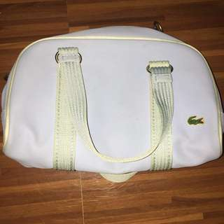 Authentic Lacoste hand bag