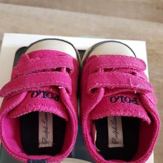 Polo Ralph baby shoes