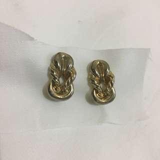 🚚 像麻花捲ㄉ可愛耳環