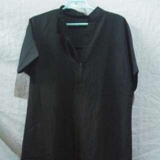 Long back blouse