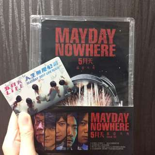 Mayday Nowhere 五月天 诺亚方舟 concert DVD & Life tour 2017 Ezlink