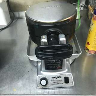 Double Waffle Maker (with transformer)