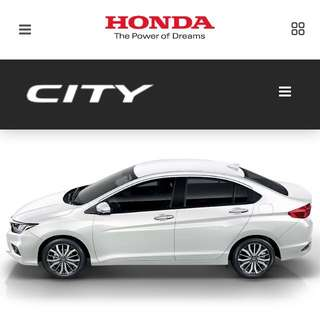 Promo New Honda City