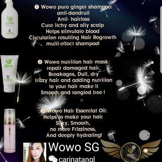 Wowo Haircare Products