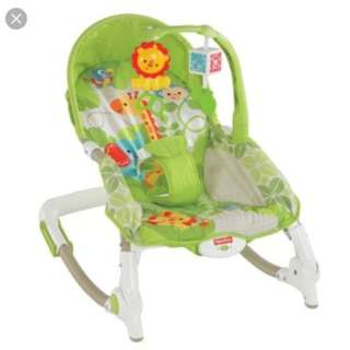 Fisher-price Rainforest Friends Newborn to Toddler Rocker
